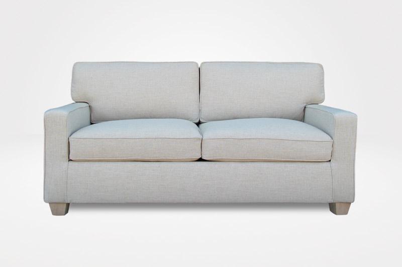 Kendall Loveseat Modern Slipcovered Sofa Chameleon Fine
