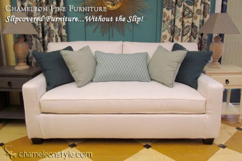 Kendall Midsize Sofa - White