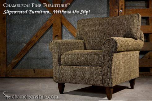 Rachel Chair in Modern Slipcover (Removable Upholstery)