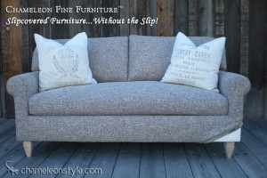 Rachel Midsize in Pascal Tweed Slipcover (Removable Upholstery)