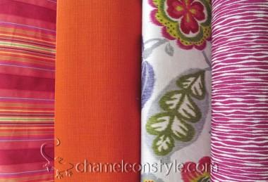 Friday Fabric Fix – Ruby and Orange