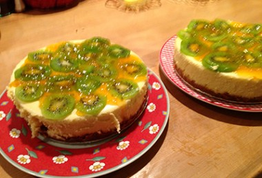 Kiwi Cheesecake Recipe