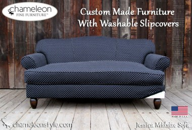 Jessica in Black and White – Chameleon Fine Furniture
