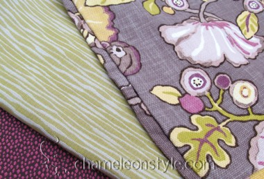 Friday Fabric Fix – Hip Berry and Greens
