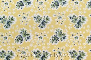 Cecelia - Lemon Decorator Fabric