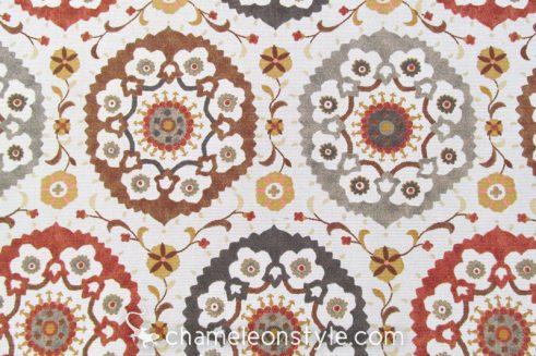 Calder - Linen Spice Fabric