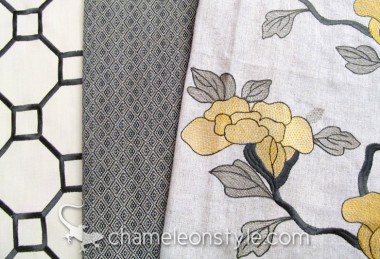 Friday Fabric Fix – Asian Floral and Geometrics