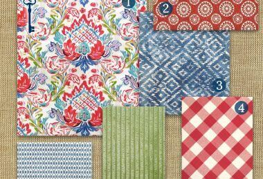 Fabric Curations – Americana Picnic Collection I