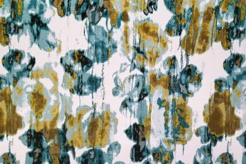 Argasio Kay Peacock Decorator Fabric