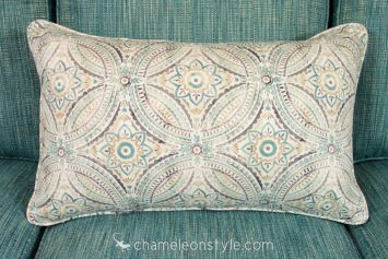 """16x26 Pillow Cover in Blissfulness – Spa.  <a href=""""https://www.chameleonstyle.com/product/power-pillow-cover-16x26-blissfulness-spa/"""">Click here to buy it!</a>"""