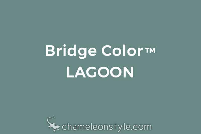 chameleon style bridge color lagoon aqua teal
