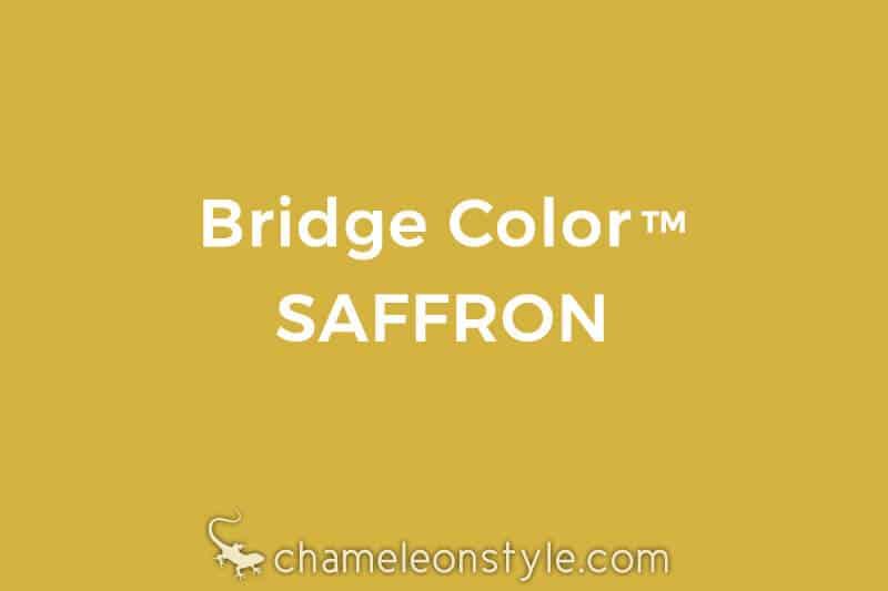 chameleon style bridge color saffron mustard yellow
