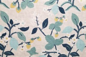 Crewel Summer Cove Decorator Fabric
