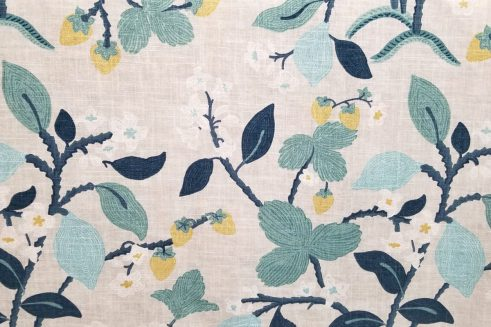 Crewel Summer Cove Decorator Fabric