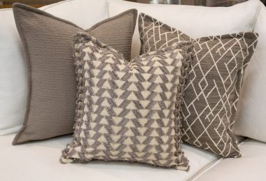 12 Days of Pillows 2018 – Grey Texture (Day 4)