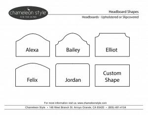 chameleon style custom headboard collection