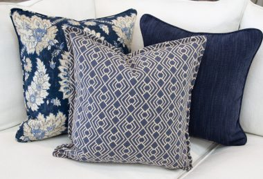 12 Days of Pillows 2018 – Indigo Evening (Day 9)