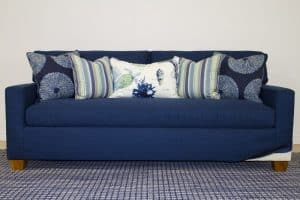 navy blue chameleon style kendall sofa bridge color lagoon