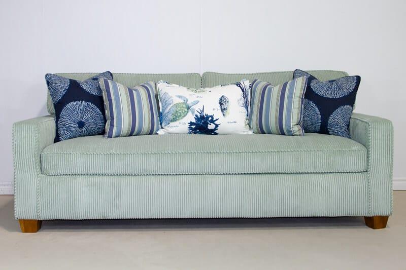 taxi spa chameleon style kendall sofa bridge color lagoon