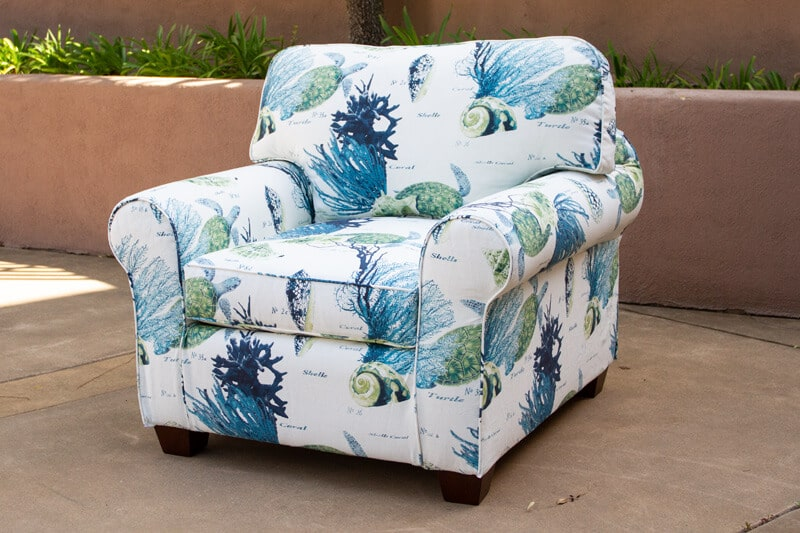corales blue mediterraneo chameleon style kerrie chair bridge color lagoon