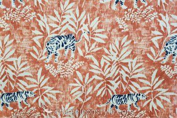 Le Tigre Antique Decorator Fabric