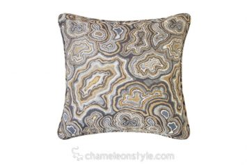 """Marni Agate - Amber Pillow Covers.  <a href=""""https://www.chameleonstyle.com/product/pillow-cover-marni-agate-amber/"""">Click here to buy it!</a>"""