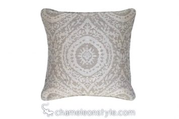 "Moorea - Mushroom Pillow Covers.  <a href=""https://www.chameleonstyle.com/product/pillow-cover-moorea-mushroom/"">Click here to buy it!</a>"