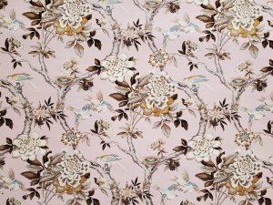 Mudan Blush Decorator Fabric