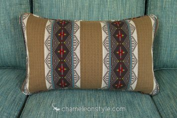 """Outland - Mesquite Pillow Covers.  <a href=""""https://www.chameleonstyle.com/product/chameleon-style-power-pillow-cover-16x26-outland-mesquite/"""">Click here to buy it!</a>"""
