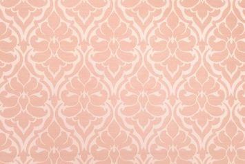 Posh Frame Blush Decorator Fabric