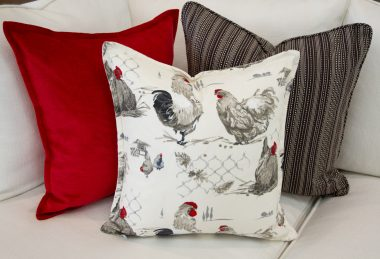 12 Days of Pillows 2018 – Rooster Country (Day 3)