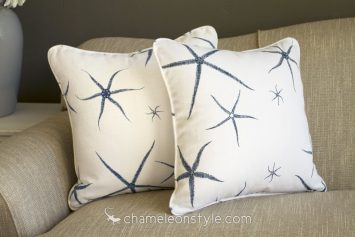 """Sea Star - Admiral 18x18 Pillow Cover...  <a href=""""https://www.chameleonstyle.com/product/pillow-cover-18x18-sea-star-admiral/"""">Click here to buy it!</a>"""