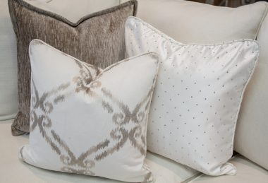 12 Days of Pillows 2018 – Silver Glam (Day 8)
