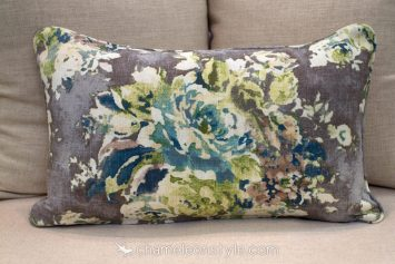 "Venus - Cinder Pillow Covers.  <a href=""https://www.chameleonstyle.com/product/chameleon-style-power-pillow-cover-16x26-venus-cinder/"">Click here to buy it!</a>"