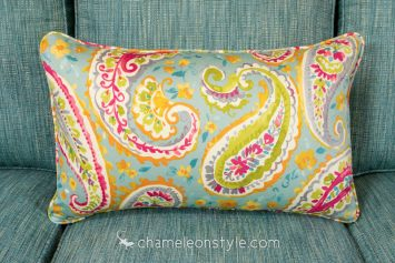 """Watercolors - Turquoise Pillow Covers.  <a href=""""https://www.chameleonstyle.com/product/chameleon-style-power-pillow-cover-16x26-watercolors-turquoise/"""">Click here to buy it!</a>"""