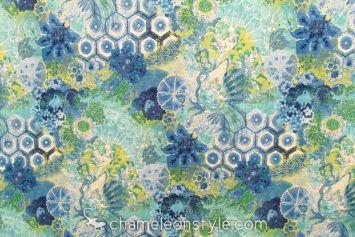 "Windflower - Sapphire Fabric...<a href=""https://www.chameleonstyle.com/product/windflower-sapphire/"">Click here to buy it!</a>"