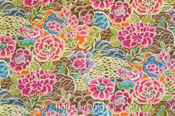 """Zen Garden - Darjeeling Fabric...<a href=""""https://www.chameleonstyle.com/product/zen-garden-darjeeling/"""">Click here to buy it!</a>"""