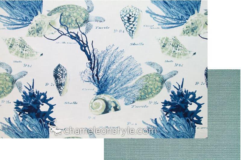 corales blue mediteraneo with calvin lagoon fabric chameleon style bridge color lagoon