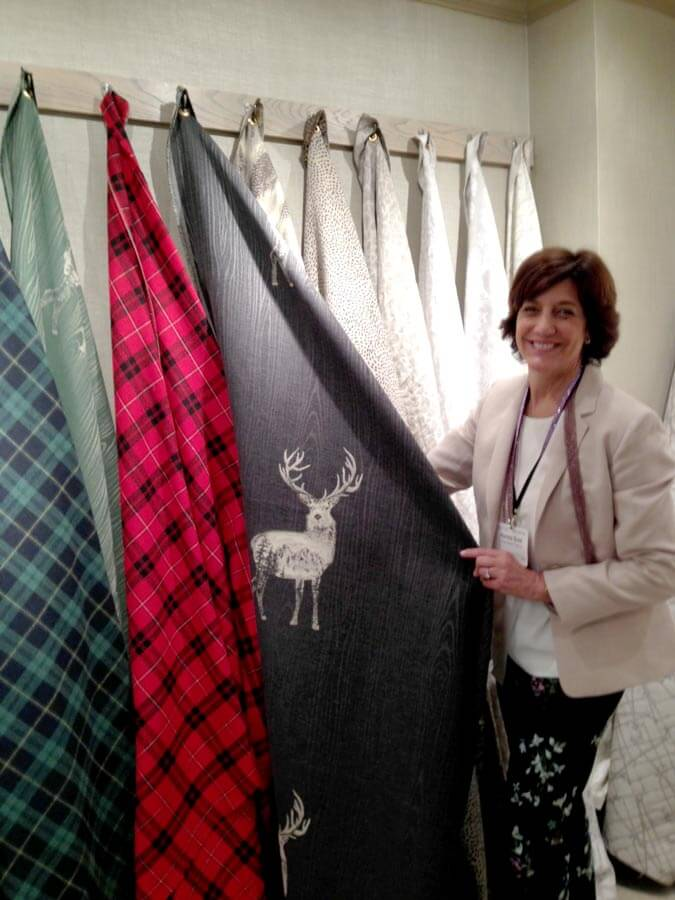 Ronnie with Home Accent Fabrics - Deer Fabric