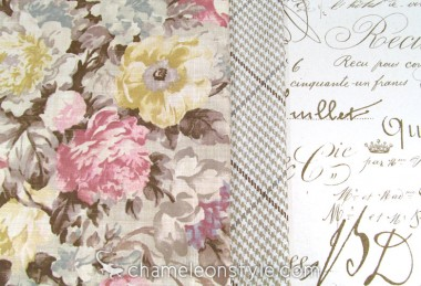 Friday Fabric Fix – Handwritten Blooms