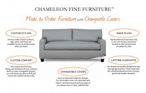 Made to Order Furniture with Changeable Covers